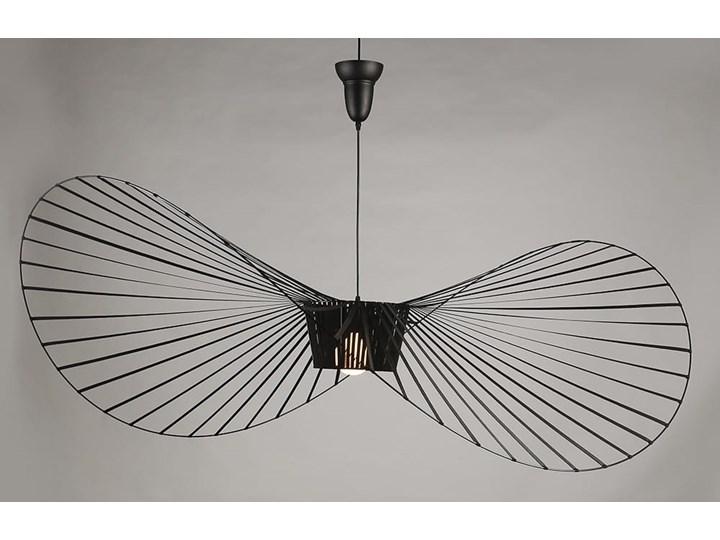 Lampa wisząca kapelusz CAPELLO L czarna Kategoria Lampy wiszące Tworzywo sztuczne Lampa z kloszem Lampa inspirowana Kolor Czarny