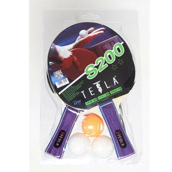 Zestaw Do Tenisa Stołowego Tesla 200 - Tesla