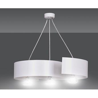 VIXON 3 WHITE 306/3 nowoczesna lampa wisząca chrom biała