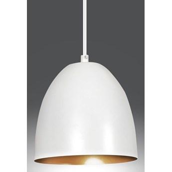 LENOX 1 WHITE-GOLD 411/1 nowoczesna lampa wisząca Biało / Złota
