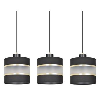 MOGI 3 BLACK lampa wisząca sufitowa eleganckie abażury regulowana wysokość