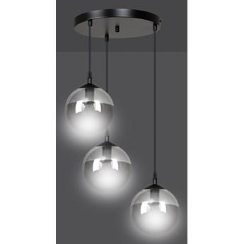 COSMO 3 BL GRAFIT PREMIUM lampa wisząca klosze kule regulowana nowoczesna