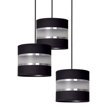 LARO 3 BLACK PREMIUM 1000/3PREM lampa wisząca abażury regulowana nowoczesna