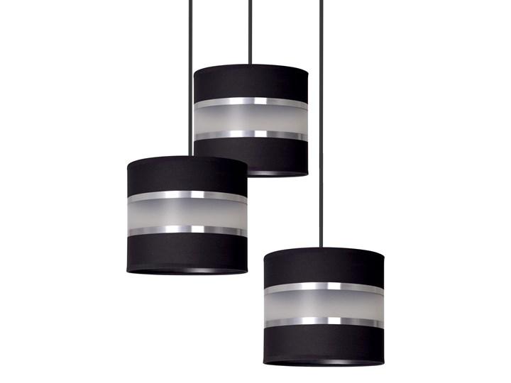 LARO 3 BLACK PREMIUM lampa wisząca abażury regulowana nowoczesna Styl Klasyczny Lampa z abażurem Metal Funkcje Brak dodatkowych funkcji