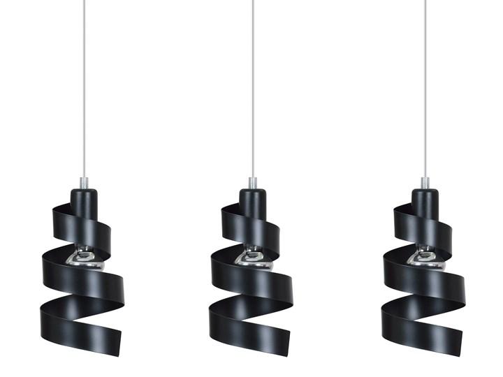 SAGA 3 BLACK 352/3 lampa wisząca sufitowa najnowszy design czarna Metal Ilość źródeł światła 3 źródła Funkcje Brak dodatkowych funkcji