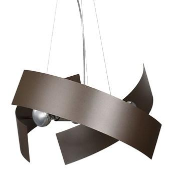 MODO WENGE 585/4 nowoczesna lampa wisząca unikalny design brązowa