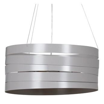 DOKKA GRAY 515/3 metalowa lampa wisząca super efekt szara