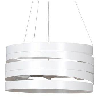 DOKKA WHITE 515/2 metalowa lampa wisząca super efekt biała