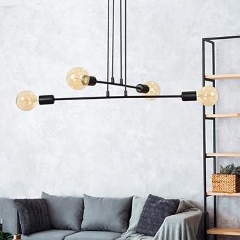 MULTIPO 4 BLACK 696/4 lampa wisząca loft regulowana oryginalny design