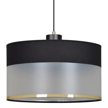 MUTO 1 BLACK 603/1 lampa wisząca sufitowa eleganckie abażury regulowana wysokość