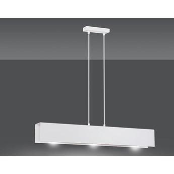 GENTOR 3 WHITE 673/3 oryginalna lampa wisząca biała LOFT regulowana metalowa DESIGN