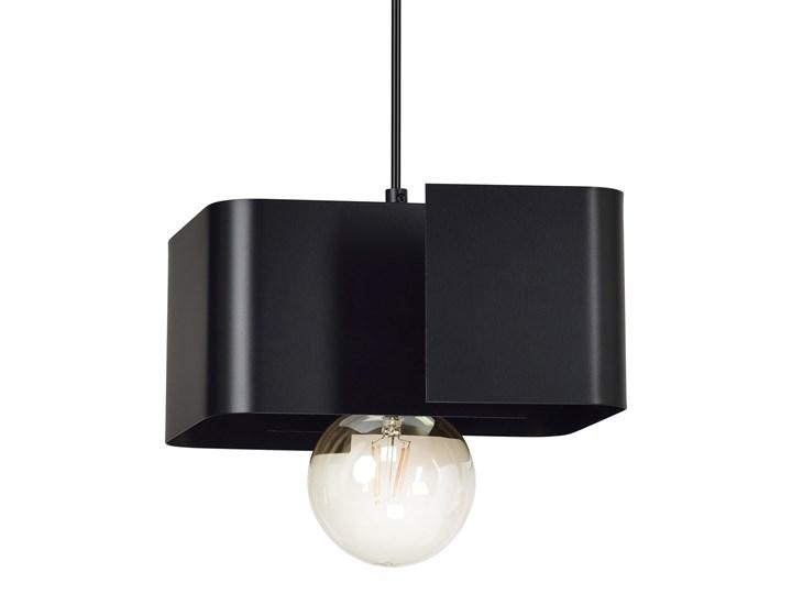 KOMA 1 BLACK 630/1 czarna lampa wisząca dużo światła nowoczesne wzornictwo