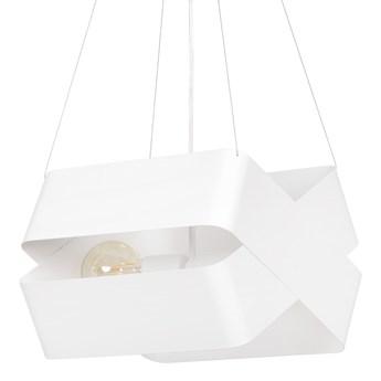 DELTA WHITE 445/2 oryginalna lampa wisząca biała LOFT regulowana metalowa DESIGN