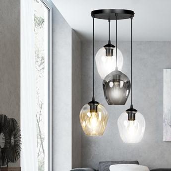ISTAR 4 BL PREMIUM MIX lampa wisząca żyrandol nowoczesny szklane klosze NOWOŚĆ