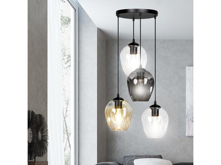 ISTAR 4 BL PREMIUM MIX lampa wisząca żyrandol nowoczesny szklane klosze NOWOŚĆ Lampa z kloszem Lampa LED Metal Kategoria Lampy wiszące Szkło Styl Klasyczny