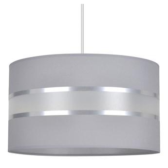 LARO 1 GRAY lampa wisząca duży abażur regulowana wysokość różne kolory