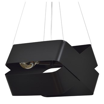 DELTA BLACK 445/1 oryginalna lampa wisząca czarna LOFT regulowana metalowa DESIGN