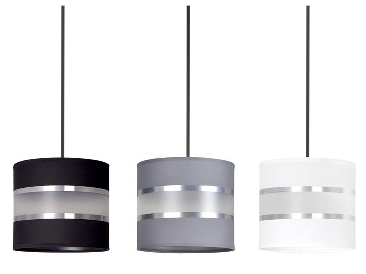 LARO 3 BL MIX lampa wisząca abażury regulowana wysokość nowoczesna Lampa z abażurem Lampa LED Metal Kategoria Lampy wiszące Kolor Czarny