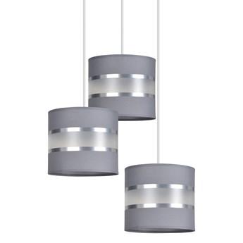 LARO 3 GRAY PREMIUM lampa wisząca abażury regulowana wysokość nowoczesna