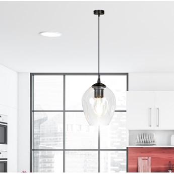 ISTAR 1 BL TRANSPARENT lampa wisząca żyrandol nowoczesny szklane klosze NOWOŚĆ