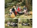 Zestaw mebli ogrodowych ze sztucznego rattanu Le Bonom Fila Liczba miejsc Czteroosobowy Zestawy wypoczynkowe Kategoria Zestawy mebli ogrodowych