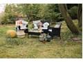 Zestaw mebli ogrodowych ze sztucznego rattanu Le Bonom Fila Liczba miejsc Czteroosobowy Zestawy wypoczynkowe Kolor Szary