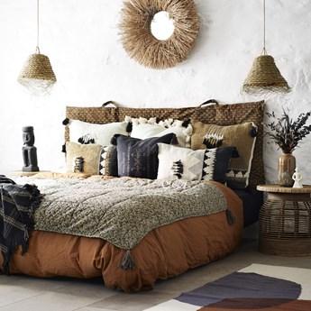 Poszewka na poduszkę Loutan 60x60 cm czarno-biała
