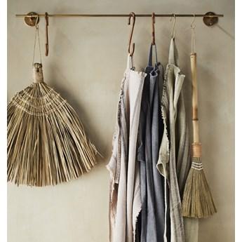 Wieszak na ręczniki Rod 90 cm złoty