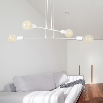 MULTIPO 4 WHITE 697/4 lampa wisząca loft regulowana oryginalny design