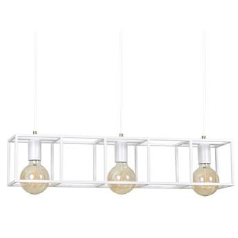 VIKTOR 3 WHITE 804/3 wisząca lampa sufitowa LOFT regulowana metalowa biała