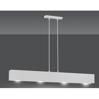 GENTOR 4 WHITE 673/4 oryginalna lampa wisząca biała LOFT regulowana metalowa DESIGN