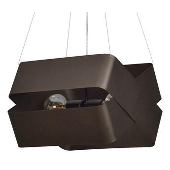 DELTA WENGE 445/4 oryginalna lampa wisząca brązowa LOFT regulowana metalowa DESIGN