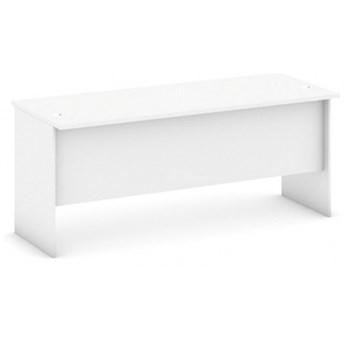 Biurko proste, długość 1800 mm, biały