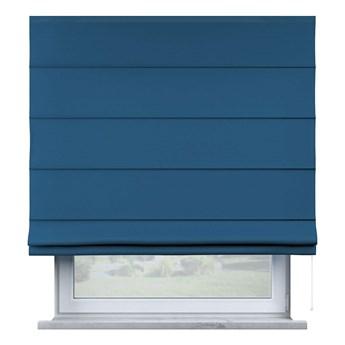 Roleta rzymska Billie, Ocean Blue (morski niebieski), szer.80 × dł.170 cm, Cotton Story
