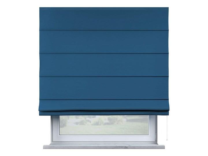 Roleta rzymska Billie, Ocean Blue (morski niebieski), szer.100 × dł.170 cm, Cotton Story Wzór Dla dzieci