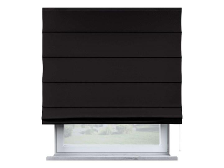 Roleta rzymska Billie, Black (czarny), szer.100 × dł.170 cm, Cotton Story Pomieszczenie Pokój przedszkolaka Kategoria Rolety