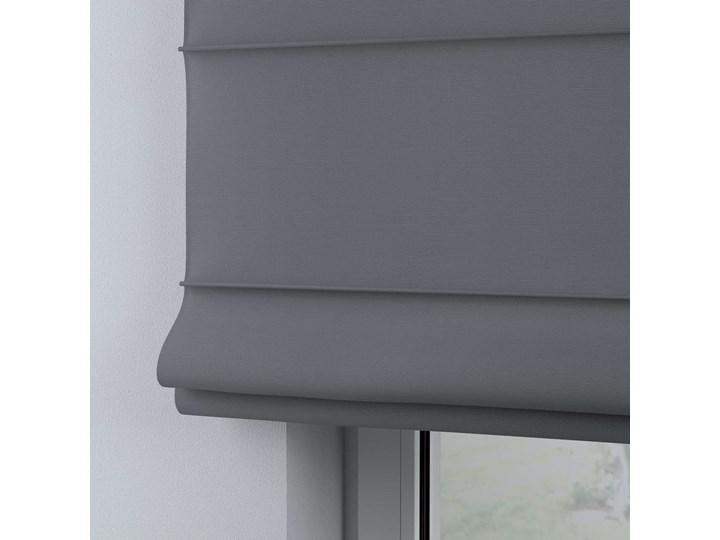Roleta rzymska Billie, Slade Grey (szary), szer.130 × dł.170 cm, Cotton Story Kategoria Rolety