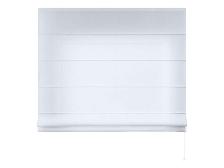 Roleta rzymska Billie, prześwitująca, biała, szer.100 × dł.170 cm, Sweet Secret Kolor Biały Pomieszczenie Pokój przedszkolaka