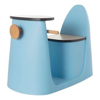 Krzesełko ze stolikiem 2w1 Vespo blue, 40x75x59cm
