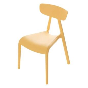 Krzesełko dziecięce Pico I pudding yellow, 36x39x58cm