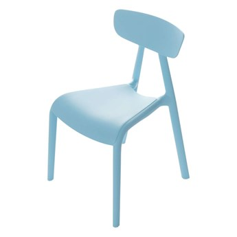 Krzesełko dziecięce Pico I light blue, 36x39x58cm