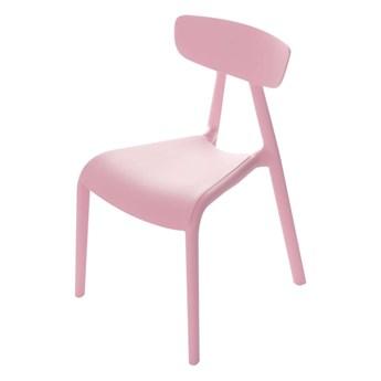 Krzesełko dziecięce Pico I candy pink, 36x39x58cm