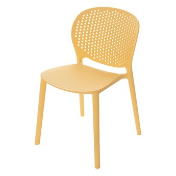 Krzesełko dziecięce Pico II pudding yellow, 36x38x59cm
