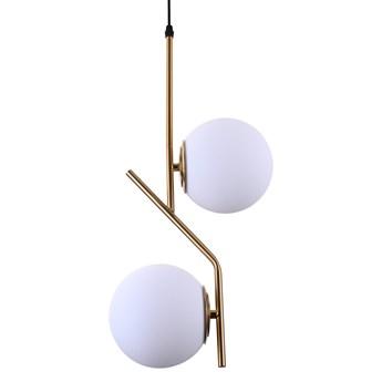 NOWOCZESNA LAMPA WISZĄCA BIAŁA BIENARI D15