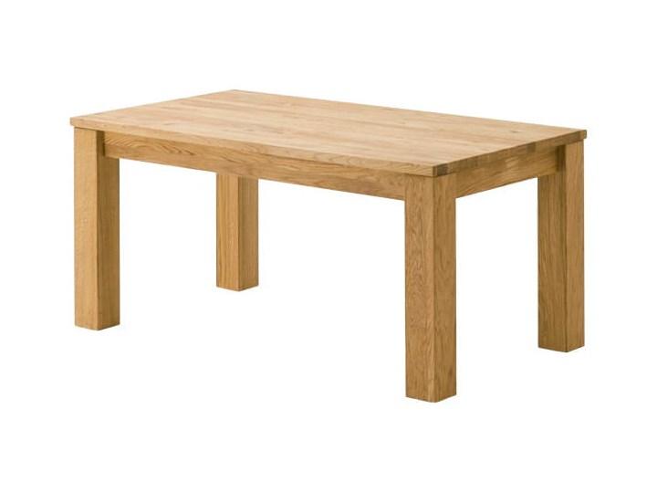 Stół dębowy rozkładany Blox Soolido Meble Metal Wysokość 78 cm Kamień Ceramika Drewno Pomieszczenie Stoły do kuchni