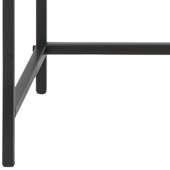 Konsola Favors 120x79 cm brązowa