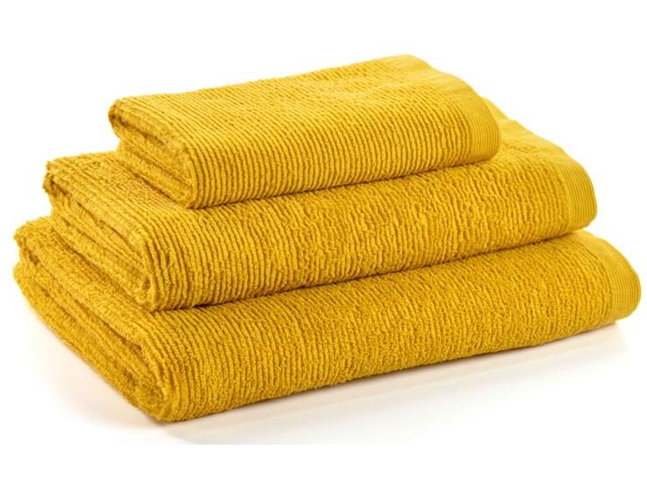 Ręcznik łazienkowy Miekki 100x50 cm musztardowy 50x100 cm Bawełna Kategoria Ręczniki Ręcznik kąpielowy Komplet ręczników 40x70 cm Kolor Żółty