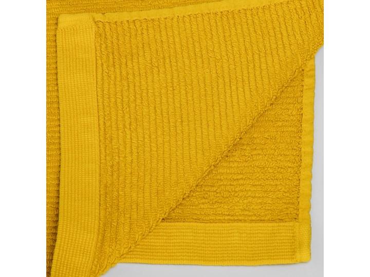 Ręcznik łazienkowy Miekki 100x50 cm musztardowy Ręcznik kąpielowy 40x70 cm Komplet ręczników 50x100 cm Bawełna Kategoria Ręczniki