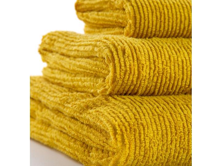 Ręcznik łazienkowy Miekki 100x50 cm musztardowy 50x100 cm Bawełna 40x70 cm Komplet ręczników Ręcznik kąpielowy Kategoria Ręczniki