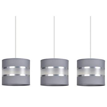 LARO 3 GRAY lampa wisząca abażury regulowana wysokość nowoczesna